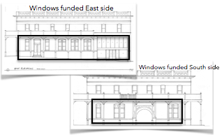 windows funded, east and south